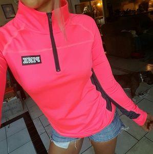 pink Sweaters - LN, VS Pink ultimate yoga