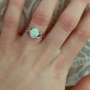 Jewelry - Opal ring size 4.5