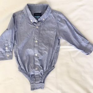 Andy & Evan Other - Baby Blue Toddler Cotton Shirt, Sz 18-24