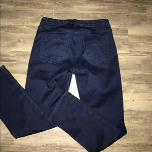 Banana Republic Jeans - BANANA REPUBLIC INDIGO BLUE SKINNY JEANS SZ: 28