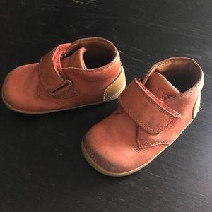 Bobux Other - Bobux size 3 pink leather boots.