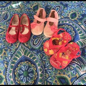 Morgan & Milo Other - Lot of 3 pairs Sz 8 toddler girl shoes