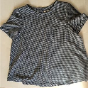 Old navy swing gingham top