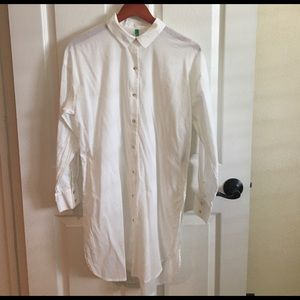United Colors Of Benetton Tops - United Colors of Benetton long shirt sz S.