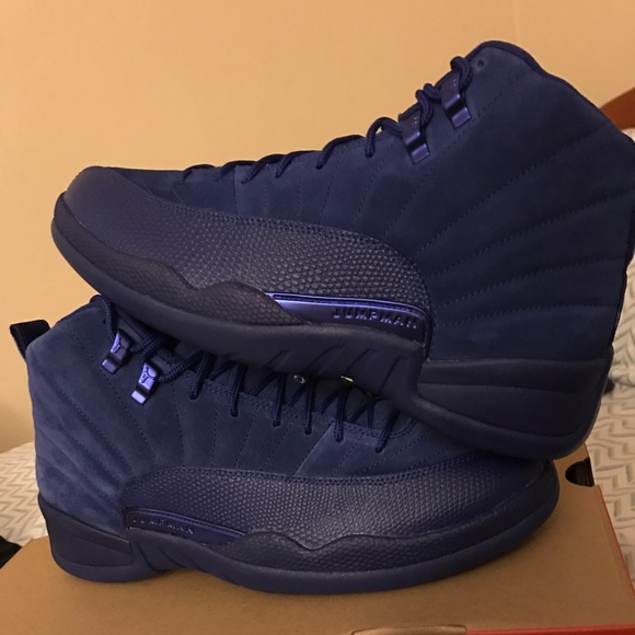 factory price 02aa4 5788f Air Jordan Retro 12. Blue Suede