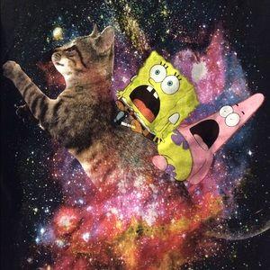 SpongeBob Squarepants Other - Galaxy sponge bob t-shirt