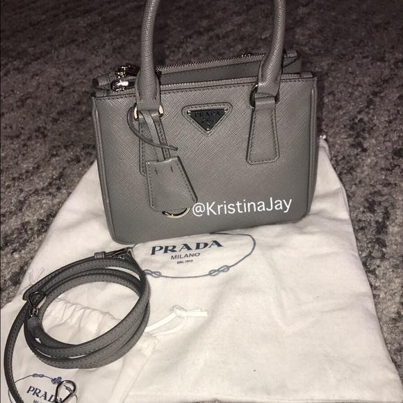 55fb826715aadb Prada Bags | Saffiano Leather Micro Bag Handbag 1290 | Poshmark