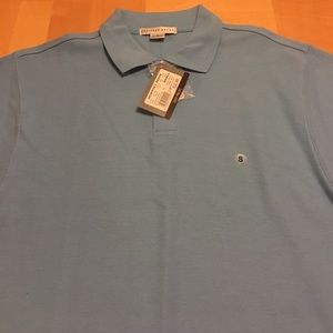 Geoffrey Beene Other - Men's light blue Polo style golf shirt