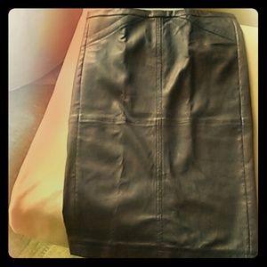 ATM Anthony Thomas Melillo Dresses & Skirts - Leather pencil skirt