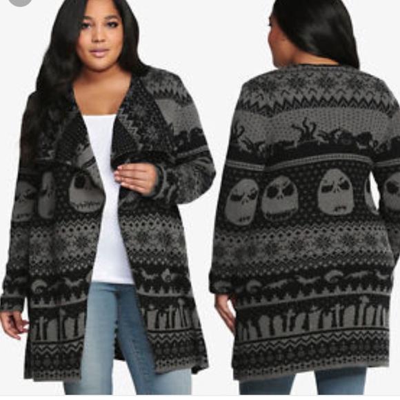 48% off Torrid Sweaters - Torrid Nightmare Before Christmas poncho ...