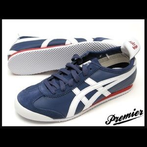 Onitsuka Tiger Shoes - Onitsuka Tiger by Asics Mexico 66 Marine/White/Red