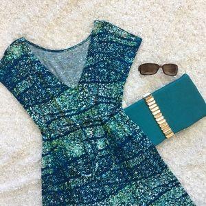 Liz Lange for Target Dresses & Skirts - 🆕NWT Soft watercolor print drawstring waist dress