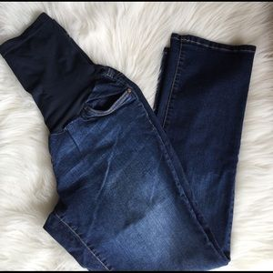 Indigo Blue Denim - Maternity Jeans