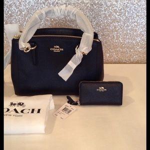 Coach Handbags - 100% AUTHENTIC COACH HANDBAG MINI CHRISTIE & COIN