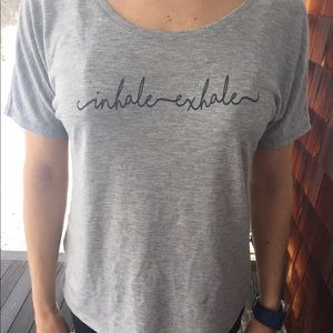 SoShelbie Tops - Inhale exhale comfy t-shirt