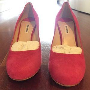 Miu Miu Shoes - Never been worn Miu Miu Heels