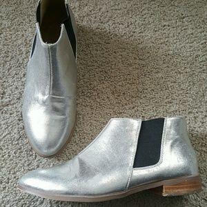 ASOS Shoes - ASOS Silver Booties