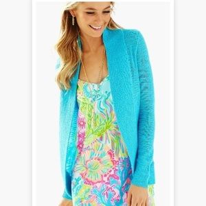 Lilly Pulitzer Sweaters - Lilly Pulitzer Open Front Cardigan