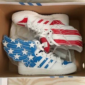Jeremy Scott x Adidas Shoes - 💯 Adidas Originals By Jeremy Scott Wings 2.0 NIB