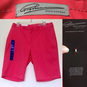 Greg Norman Signature Series Pants - GREG NORMAN 💕 Signature Series Pink Golf Shorts💕