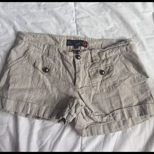 G by Guess Pants - guess linen/cotton shorts size 28