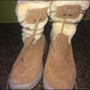 Khombu Shoes - Winter Boots With Fur