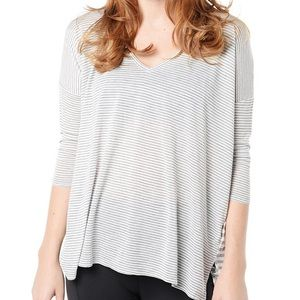 Beyond Yoga Tops - NWOT Beyond Yoga Striped Tee