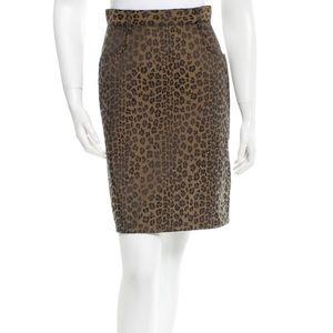 Fendi Dresses & Skirts - Fendi Cheetah Skirt