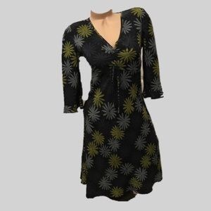 The Limited Floral Silk Dress