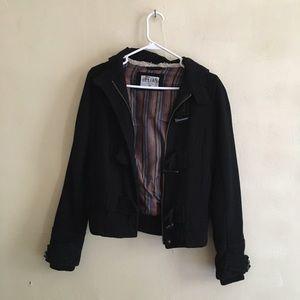 Delias zip up toggle button jacket