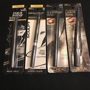 L'Oreal Other - L'Oréal Black Liquid Eyeliners. All New