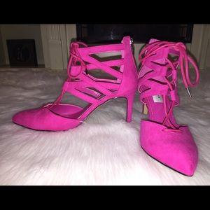 Chelsea & Zoe Shoes - Lace up heels
