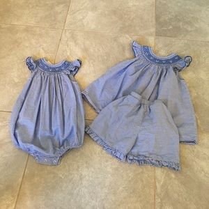 southern kids  Other - Matching smocked girl outfits! 24m & 4t cotton