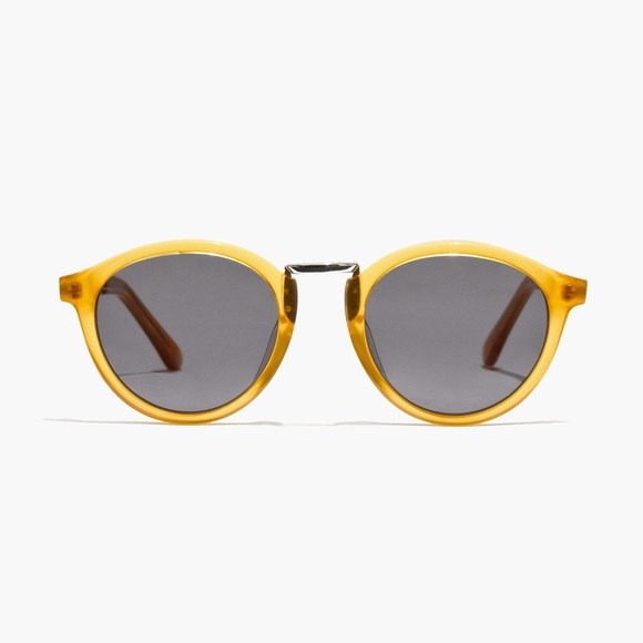 madewell indio yellow frame sunglasses - Yellow Frame Sunglasses