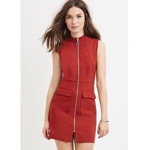 Forever 21 Dresses & Skirts - F21 Retro Zip Shift Dress