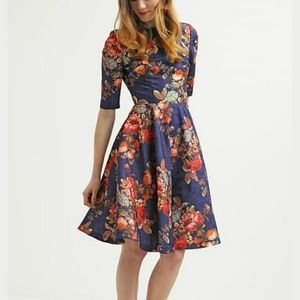 Floral midi by Chi Chi London