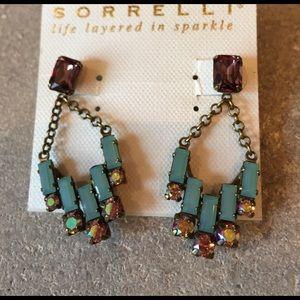 Sorrelli Jewelry - Sorelli Swarovski crystal earrings. NWT