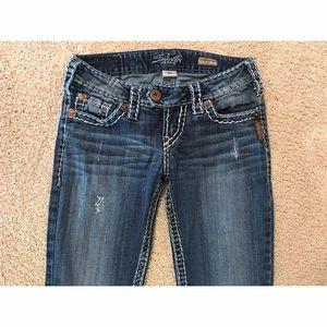 Silver Jeans Denim - Silver jeans size 25