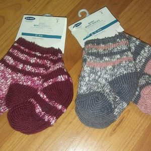 Old Navy Other - *3 for $15* Four pair baby boot socks