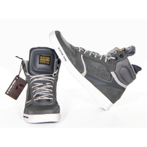 G-Star Other - High-Top Gray Sneakers 10: G-Star Originals Raw