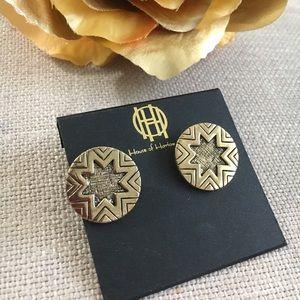 House of Harlow 1960 Jewelry - House of Harlow 1960 Sunburst Earrings