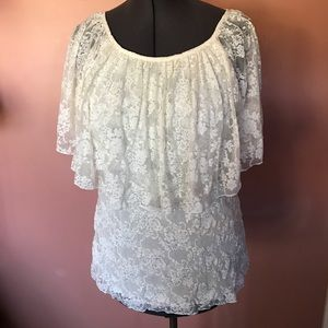 new directions Tops - Lace blouse