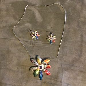 Jewelry - Fashion handcrafted necklace & earrings set