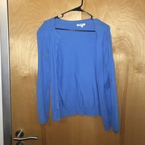 Old Navy Blue Cardigan size M