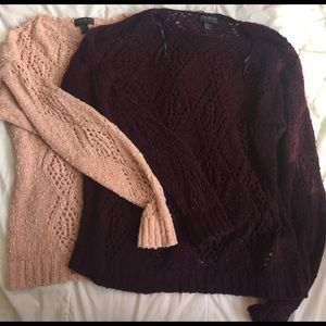 Forever 21 Sweaters - lot of two forever 21 3x sweaters