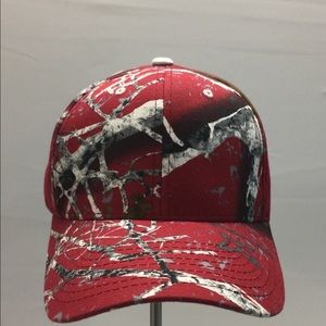 Zephyr Other - Red multi color camouflage cap by Zephyr