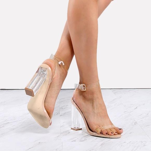 06496609586 cape robbin Shoes - Cape Robbin Clear Heels