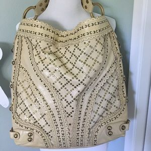 Isabella Fiore Handbags - Gorgeous Large Isabella Fiore Stud Muffin Bag