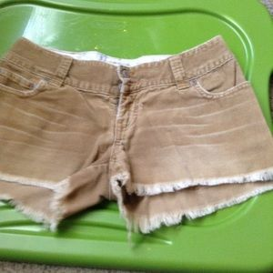 Pants - REDUCED Abercrombie corduroy shorts