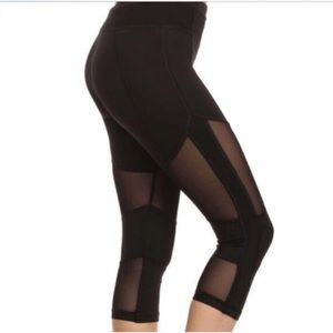 Electric Yoga Pants - Electric Yoga Mesh Capri